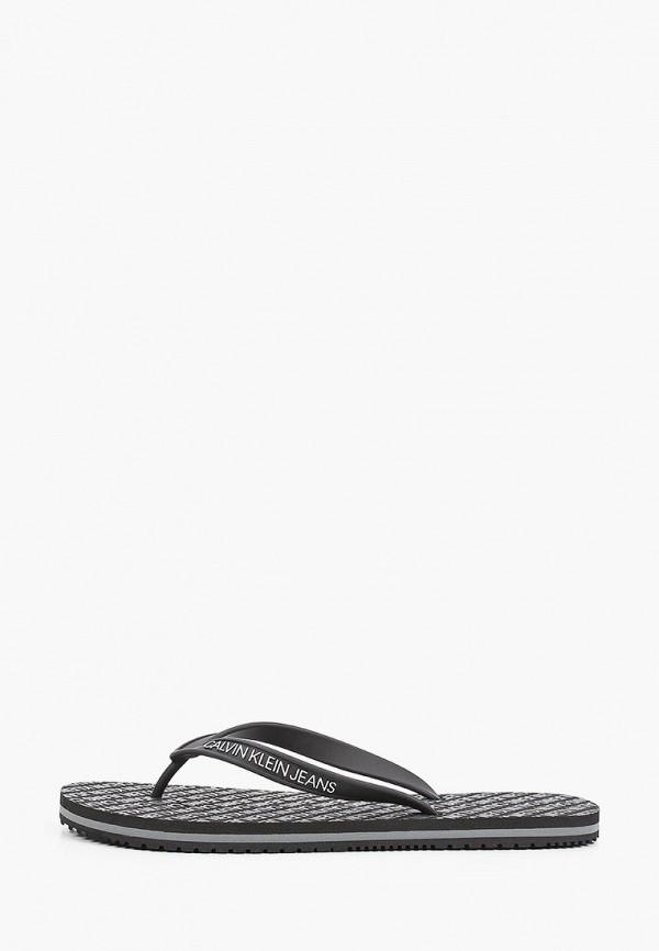 Сланцы Calvin Klein Jeans Calvin Klein Jeans YM0YM00057 черный фото