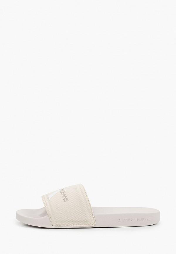 Сланцы Calvin Klein Jeans Calvin Klein Jeans YM0YM00061 белый фото