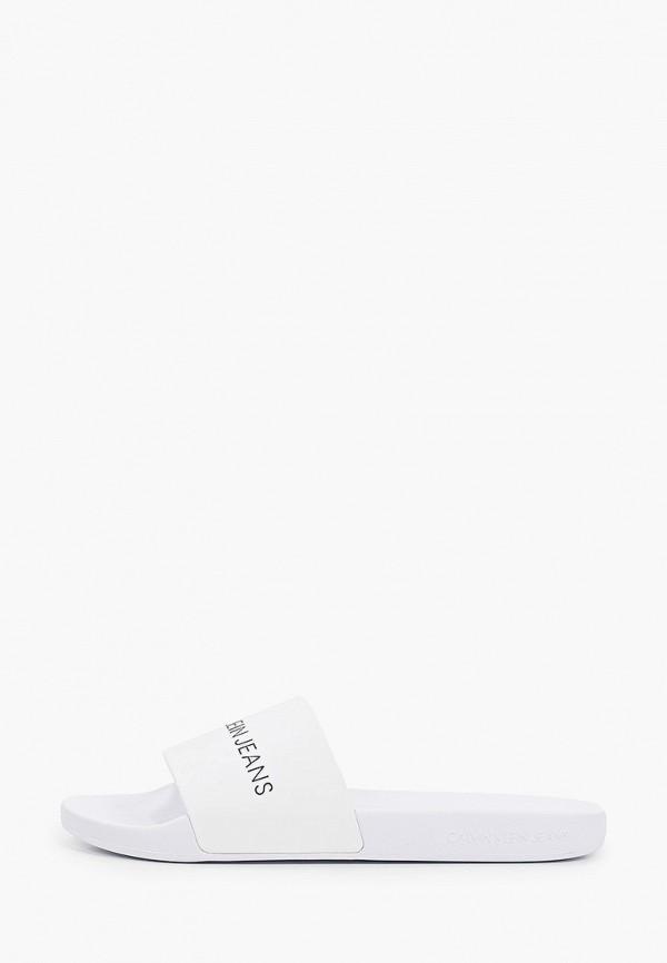 Сланцы Calvin Klein Jeans Calvin Klein Jeans YM0YM00062 белый фото