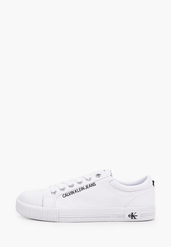 Кеды Calvin Klein Jeans Calvin Klein Jeans YW0YW00042 белый фото