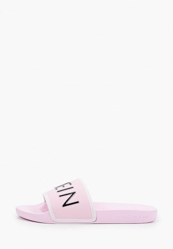 Сабо Calvin Klein Jeans Calvin Klein Jeans YW0YW00131 розовый фото