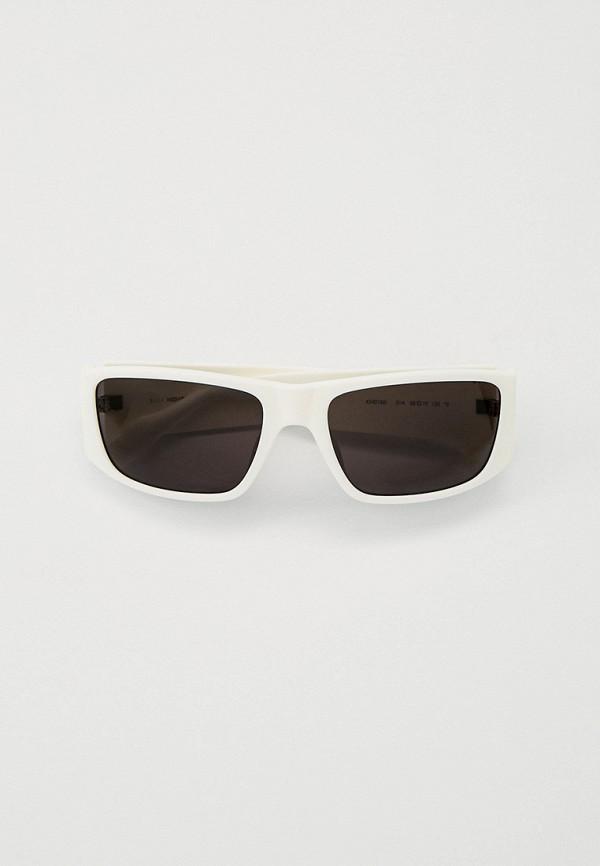 женские квадратные солнцезащитные очки kenzo, белые