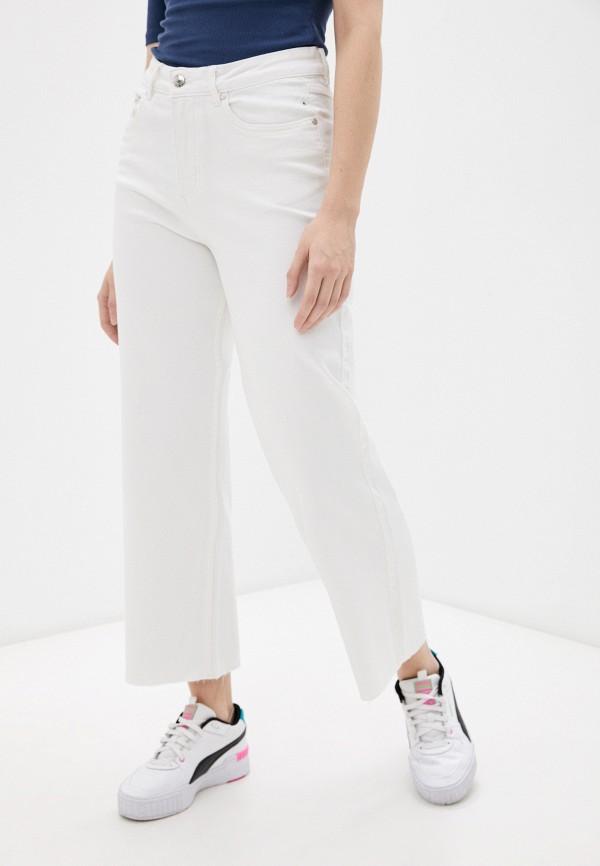 женские джинсы клеш b.young, белые