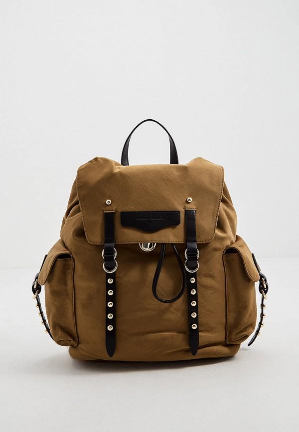 женский рюкзак rebecca minkoff, хаки