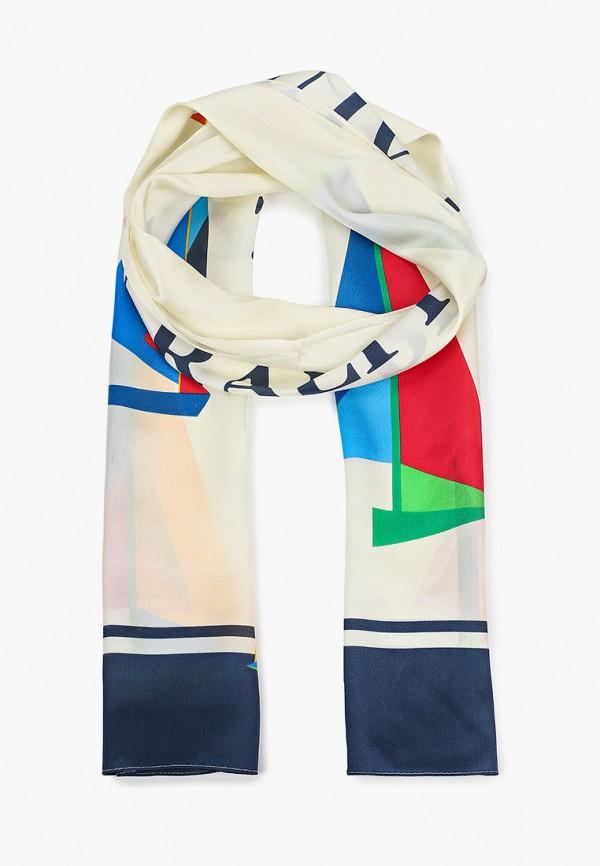женский шарф lauren ralph lauren, бежевый