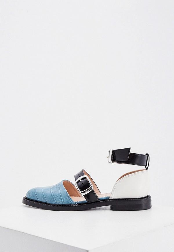 женские туфли inch2, бирюзовые