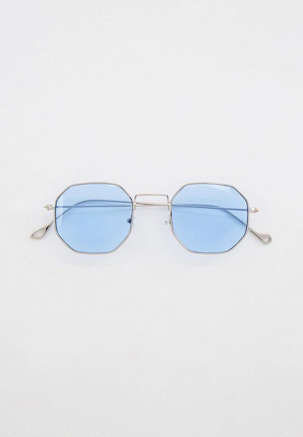 женские круглые солнцезащитные очки koton, серебряные