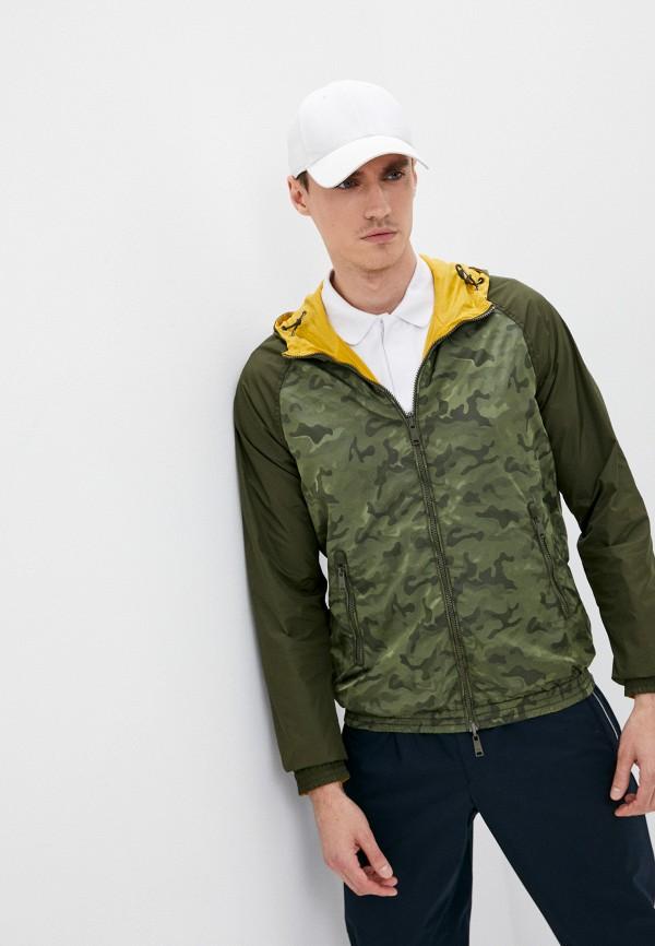 мужская куртка emporio armani, разноцветная