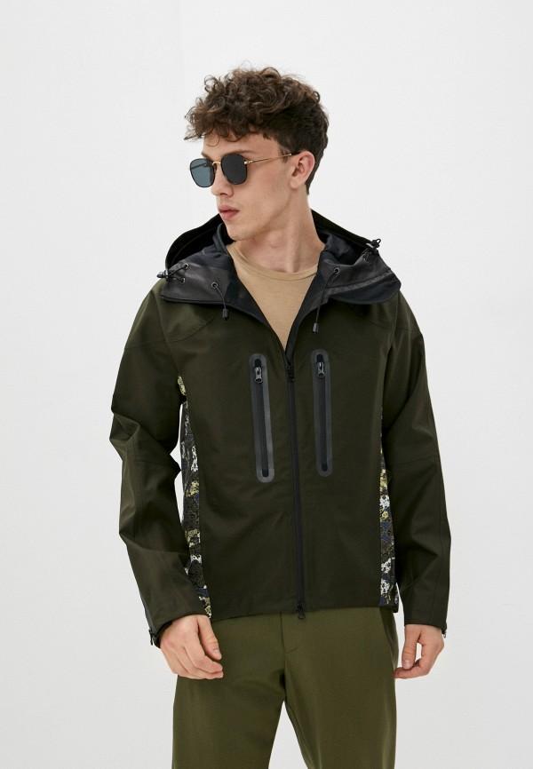 мужская куртка emporio armani, хаки