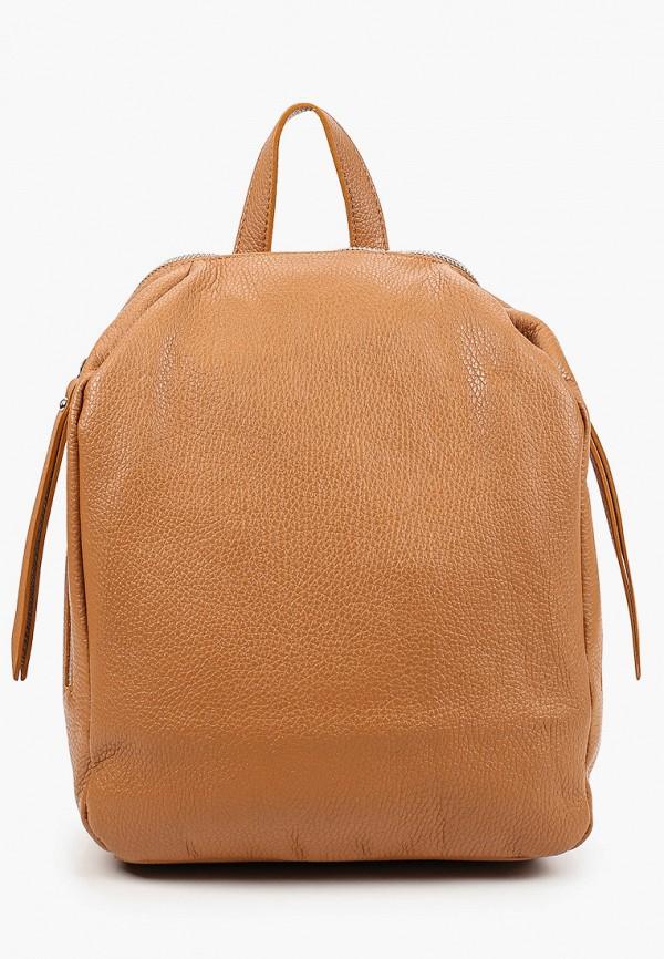 женский рюкзак anna luchini, коричневый