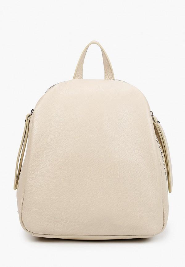 женский рюкзак anna luchini, бежевый