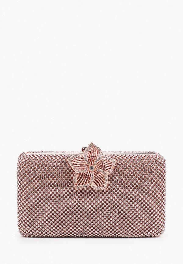 женский клатч isabella rhea, розовый
