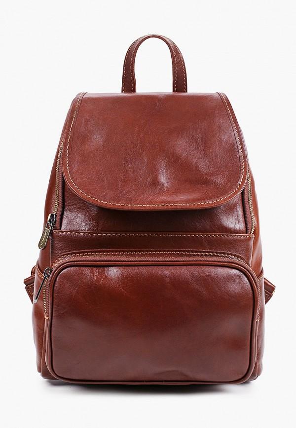 женский рюкзак roberta m, коричневый