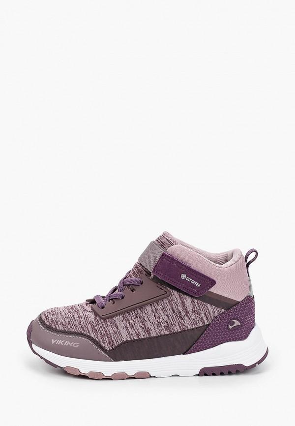 Кроссовки для девочки Viking 3-51040-6294