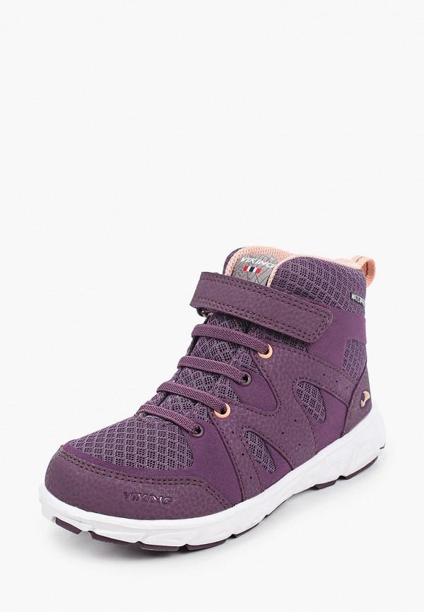 Ботинки для девочки Viking 3-48010-1683 Фото 2