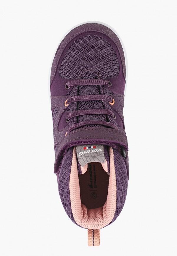 Ботинки для девочки Viking 3-48010-1683 Фото 4