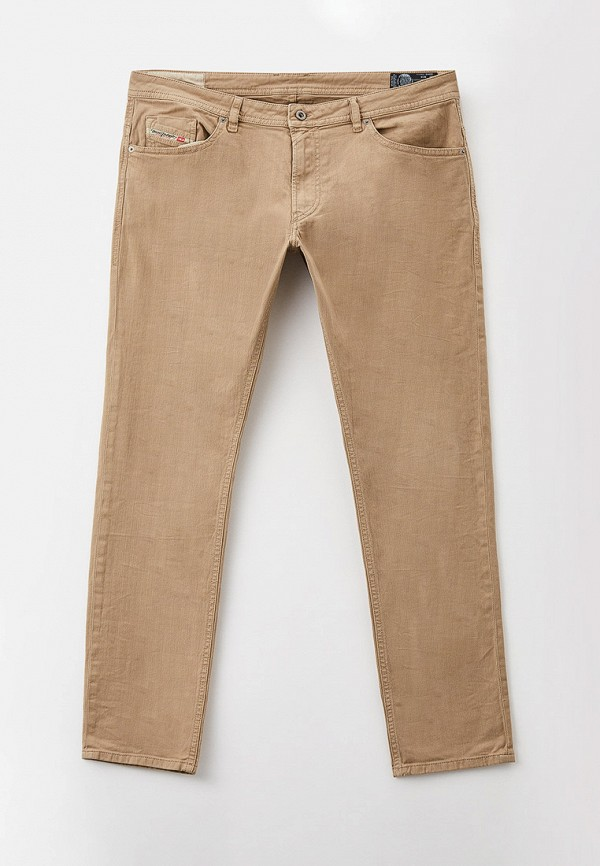 мужские повседневные брюки diesel, бежевые