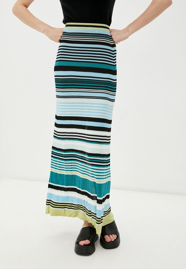 женская узкие юбка diesel, разноцветная