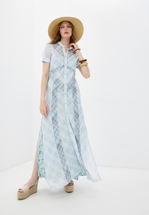 Платье Diesel голубого цвета