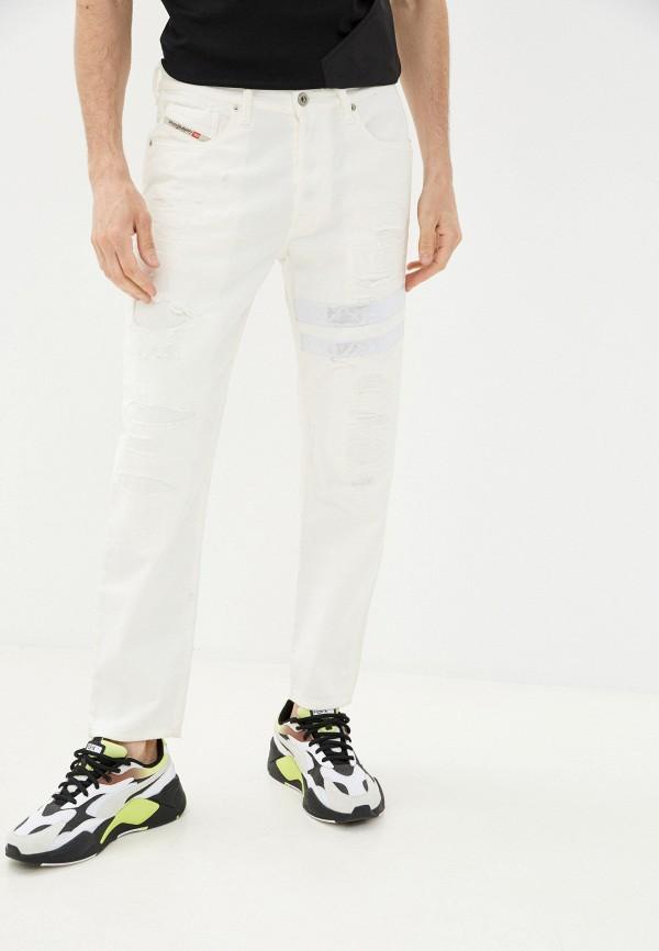 мужские прямые джинсы diesel, белые