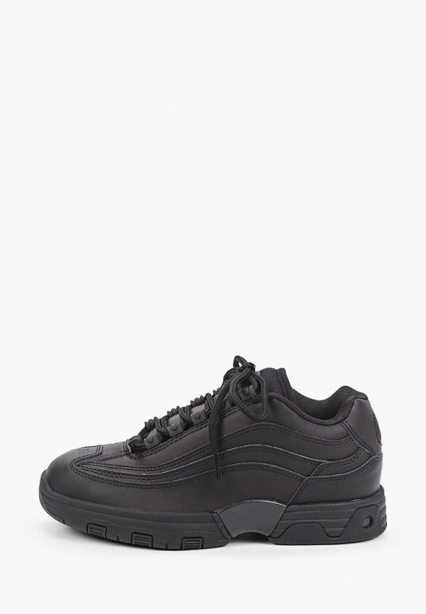 женские низкие кроссовки dc shoes, черные