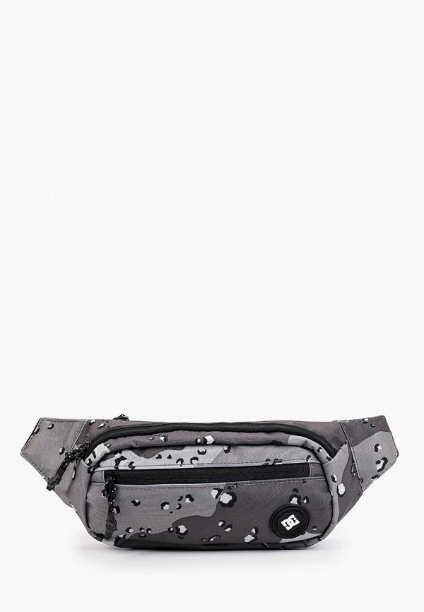 мужская поясные сумка dc shoes, серая