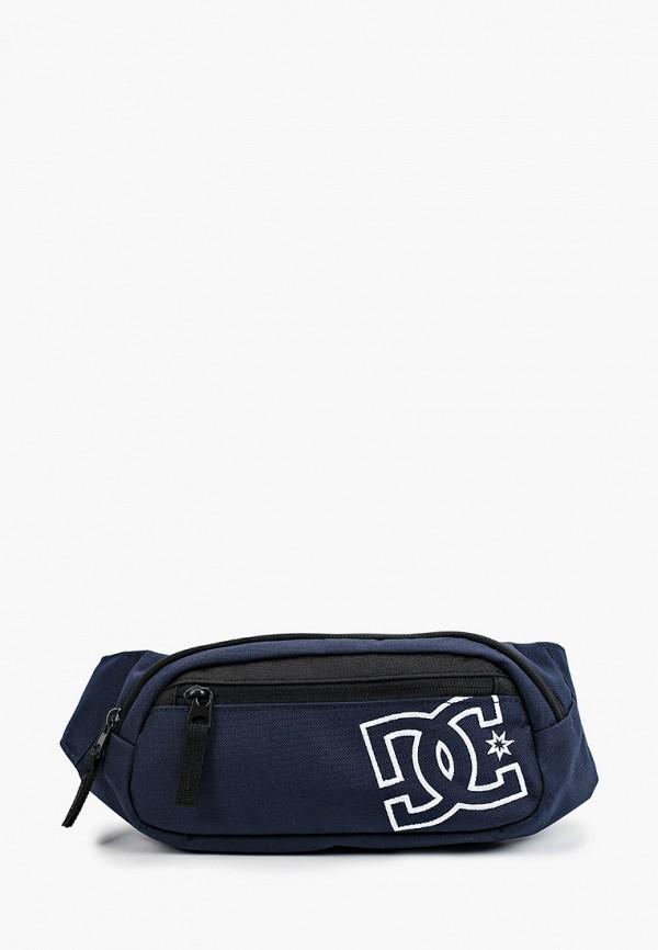 мужская сумка dc shoes, синяя