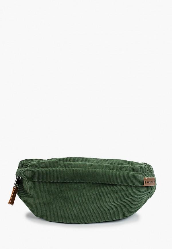 мужская сумка quiksilver, зеленая