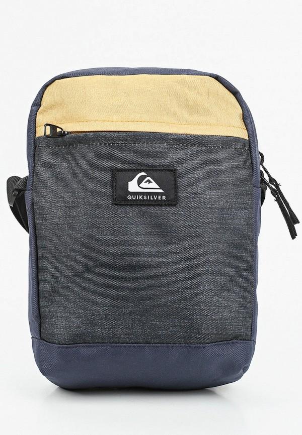 мужская сумка quiksilver, серая