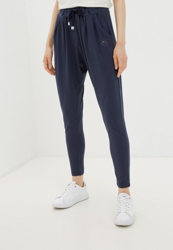 женские спортивные брюки roxy, синие