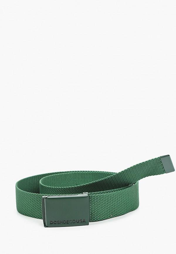мужской ремень dc shoes, зеленый