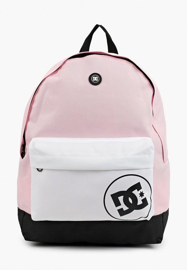 женский рюкзак dc shoes, розовый