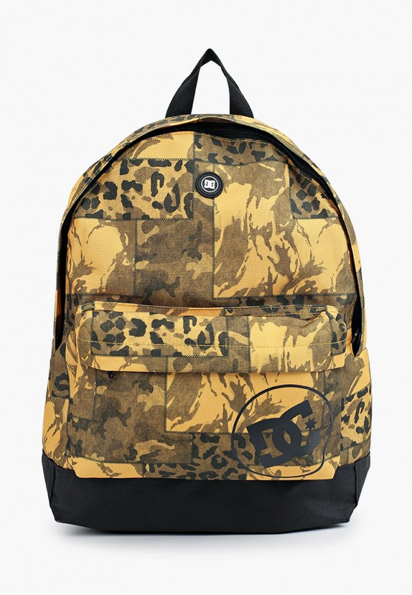 женский рюкзак dc shoes, желтый