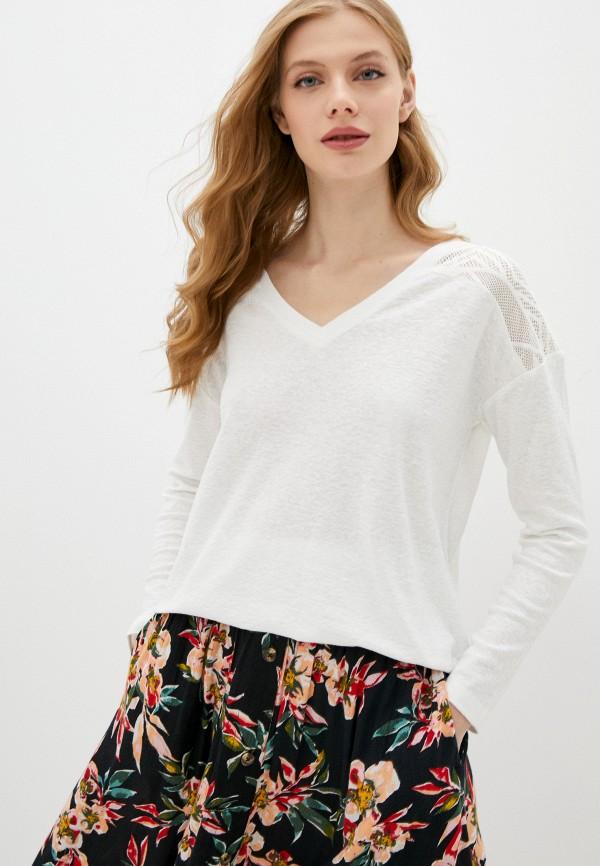 женский пуловер roxy, белый