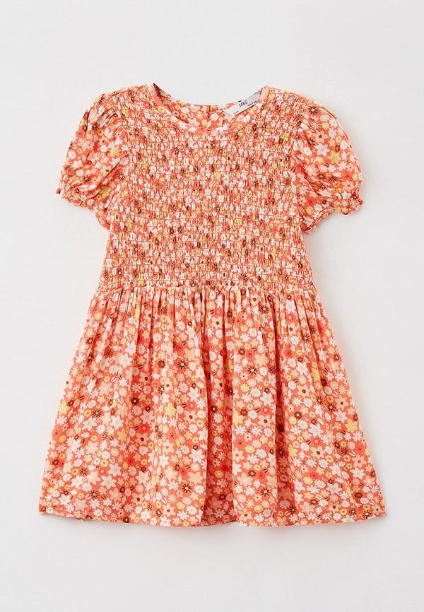 Платье Marks & Spencer Marks & Spencer T773302LC8 оранжевый фото