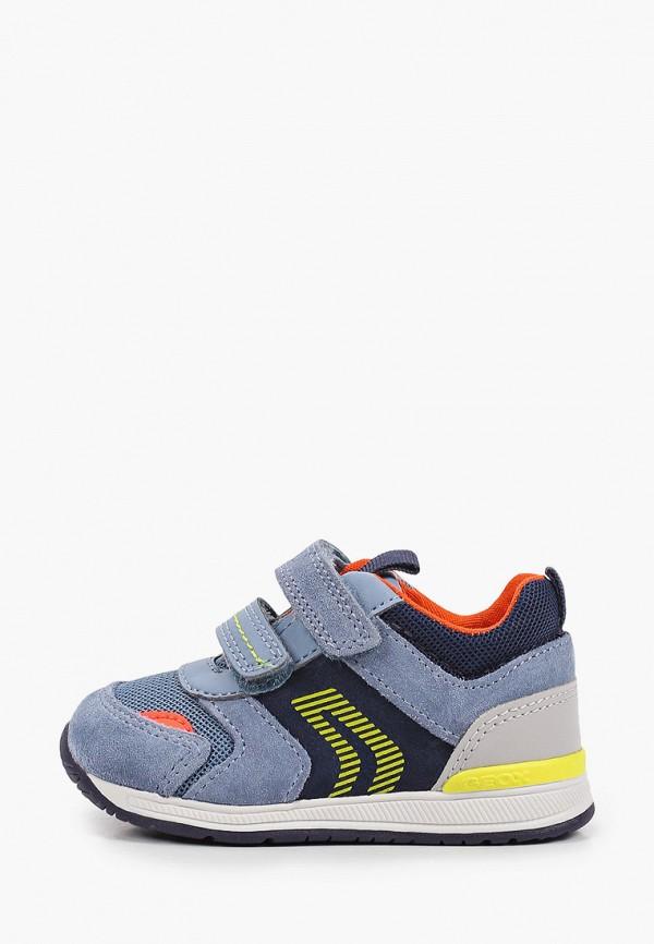 кроссовки geox для мальчика, голубые