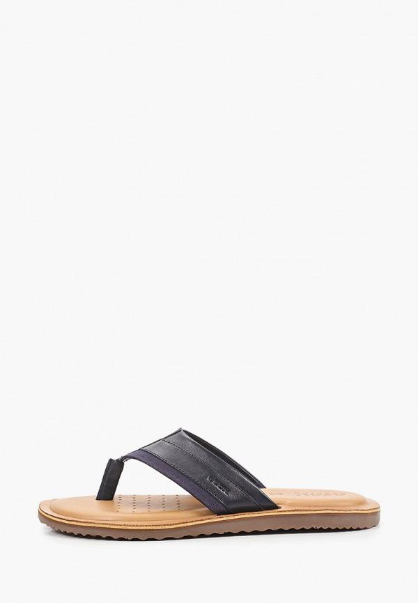мужские сандалии geox, синие