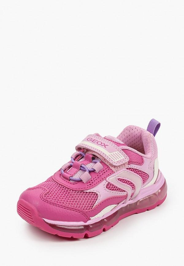 Кроссовки для девочки Geox J1545D014BUC8230 Фото 2