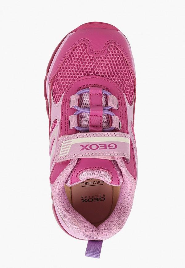 Кроссовки для девочки Geox J1545D014BUC8230 Фото 4