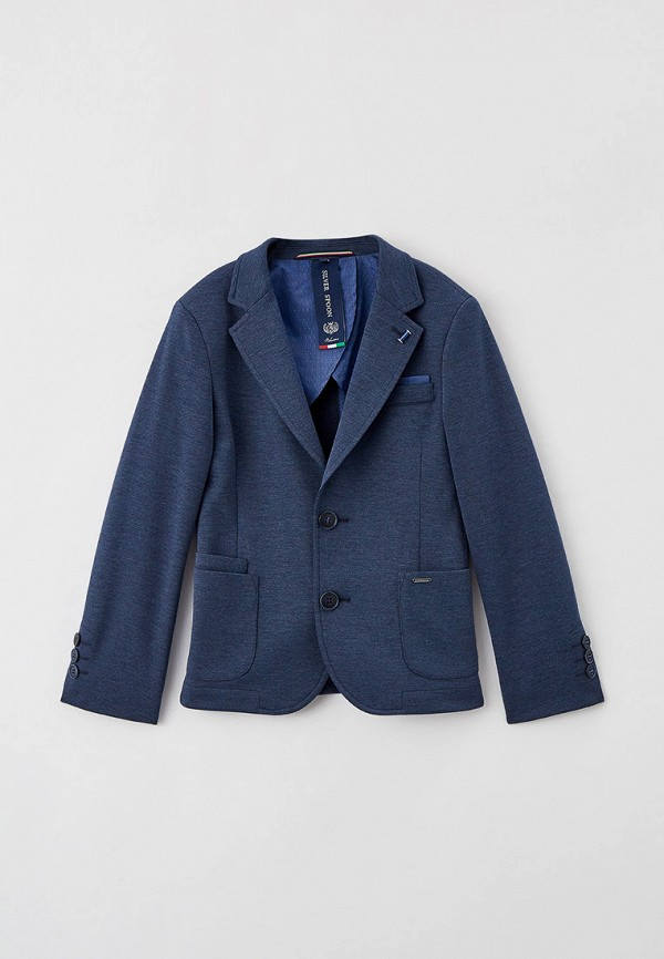 пиджак silver spoon для мальчика, синий