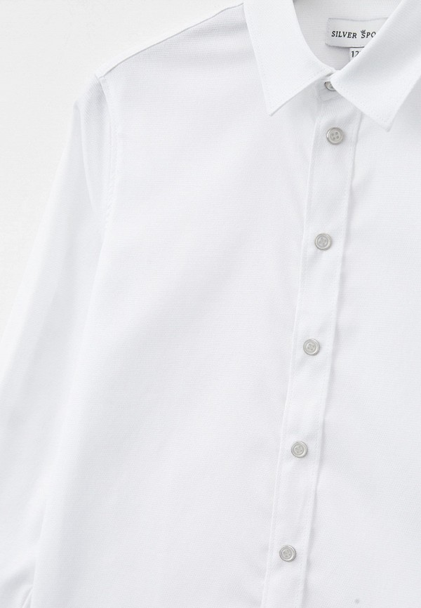 Рубашка для мальчика Silver Spoon SSFSB-128-14153-219 Фото 3