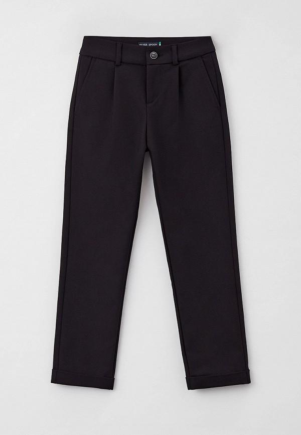 брюки silver spoon для мальчика, черные