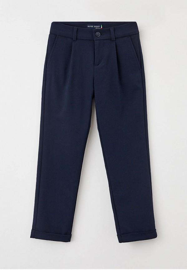 брюки silver spoon для мальчика, синие