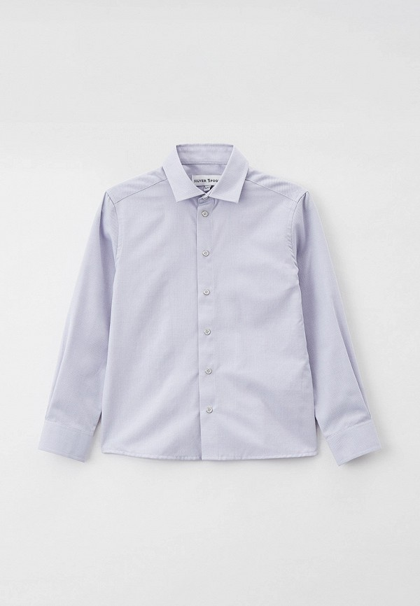 Рубашка для мальчика медицинская Silver Spoon SSFSB-129-18042-807