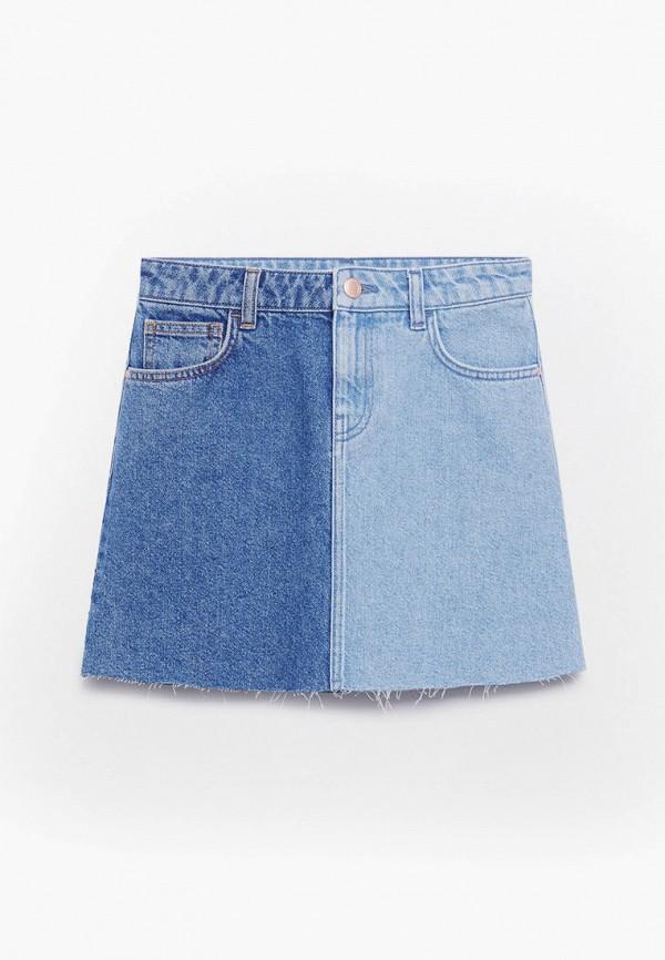Юбка для девочки джинсовая Mango Kids 87057885