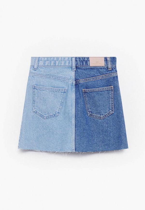 Юбка для девочки джинсовая Mango Kids 87057885 Фото 2