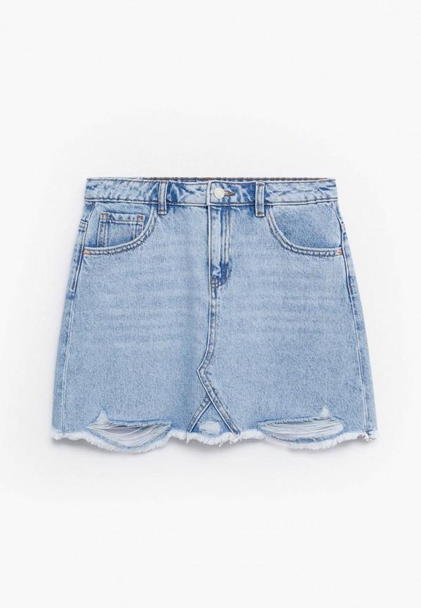 Юбка для девочки джинсовая Mango Kids 87027882