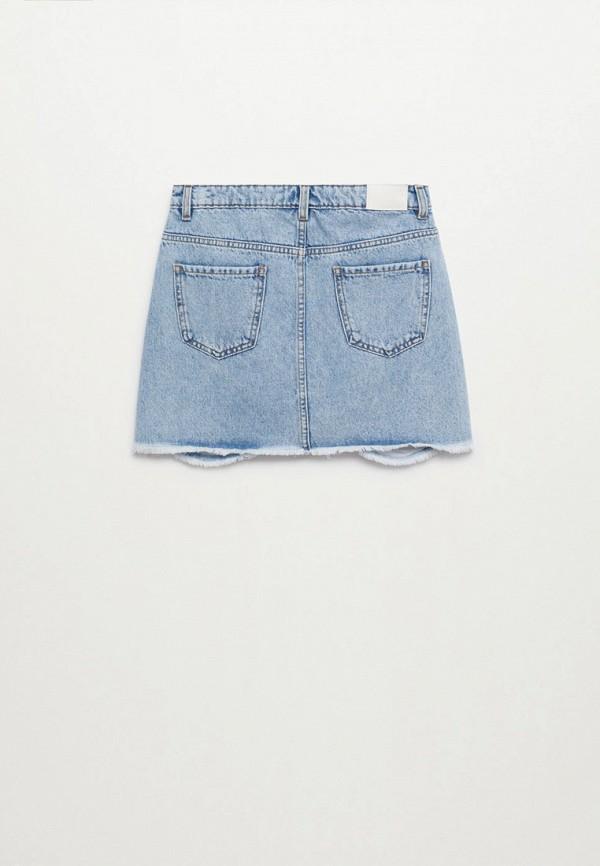 Юбка для девочки джинсовая Mango Kids 87027882 Фото 2