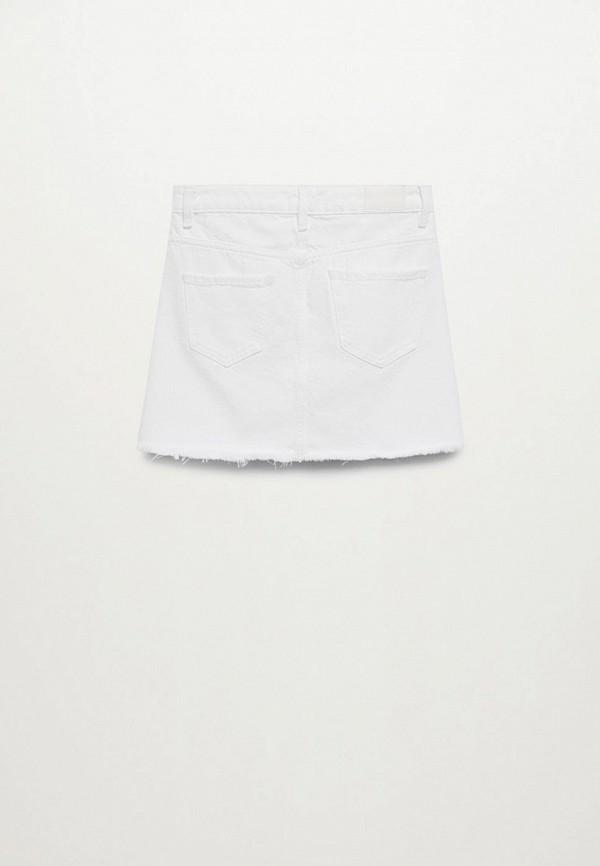 Юбка для девочки джинсовая Mango Kids 87067881 Фото 2