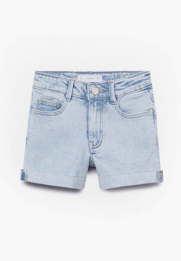 Шорты для девочки джинсовые Mango Kids 87015697